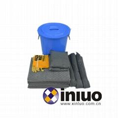 KITY64通用應急吸液組合套裝多功能吸液組合桶
