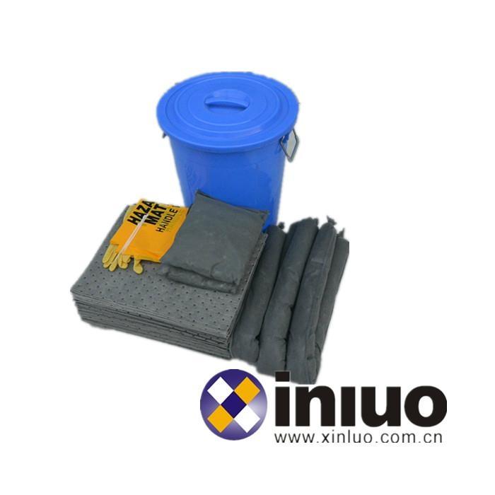 KITY64通用應急吸液組合套裝多功能吸液組合桶 4
