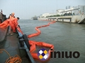 WGV600 solid float type PVC oil boom