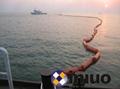 河道PVC750固体浮子式PVC围油栏水面拦截油污垃圾围油栏