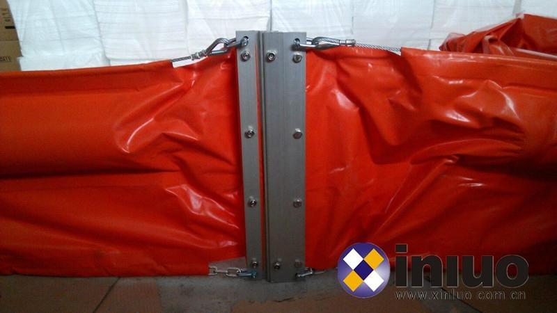 河道PVC750固体浮子式PVC围油栏水面拦截油污垃圾围油栏 1