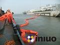 河道PVC750固体浮子式PVC围油栏水面拦截油污垃圾围油栏 4
