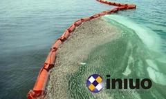 PVC900固体浮子式PVC围油栏港口码头防泄漏围油栏