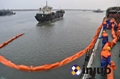 PVC900固体浮子式PVC围油栏港口码头防泄漏围油栏 2