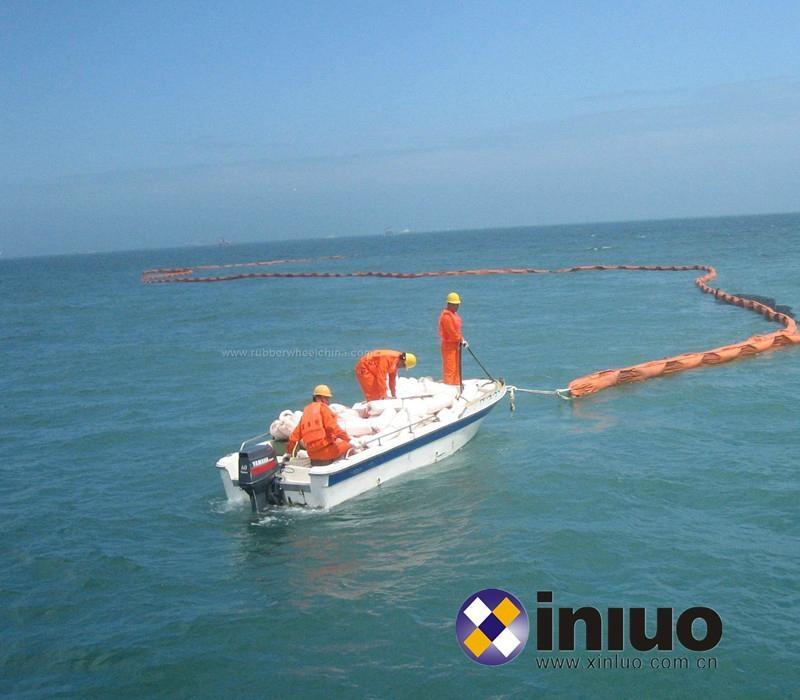 PVC900固体浮子式PVC围油栏港口码头防泄漏围油栏 3