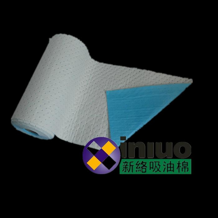 Oil transport vehicles, preventive equipment, cleaning oil - absorbing roll