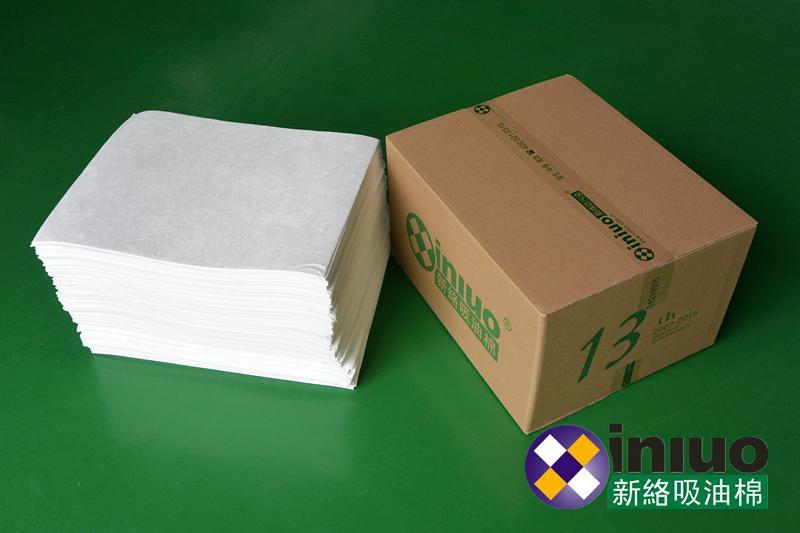 新络1401工业吸油垫厂家批发吸油棉水面吸油毡地面泄漏厚吸油片 8