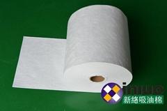 新络2401工业吸油卷不吸水多用于地面水面泄漏应急清洁吸油棉