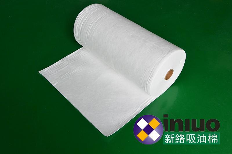 新絡2402工業吸油卷不吸水多用於地面水面洩漏應急清潔吸油棉 1