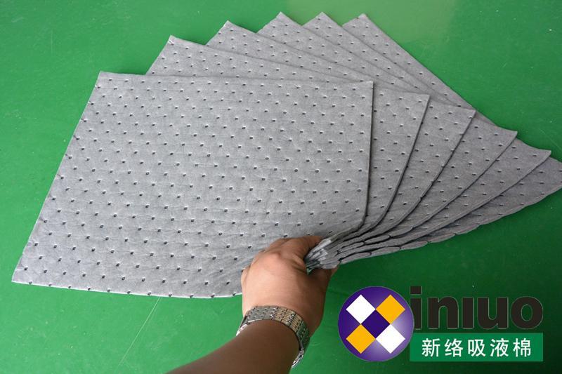 宁波吸液棉垫厂家新络品牌灰色车间维修吸液棉吸液垫