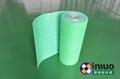 FH98020L绿色防滑防渗透吸液毯粘地面多功能多用途吸液毯 11