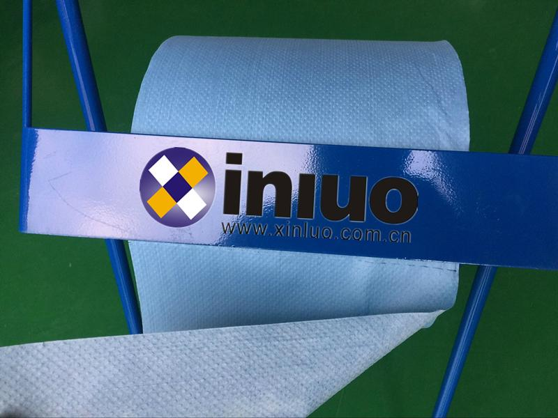 新络25190蓝色环保擦拭布工业机器油污清洁卷状擦拭布 2