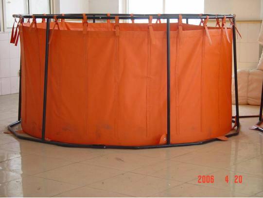 海上收油应急储存支架式轻便储油罐QG5 1