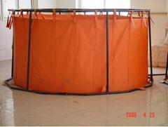 海上收油應急儲存支架式輕便儲油罐QG5