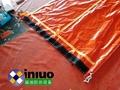 WG18300河流拦截不透水围隔水下3米PVC布围污屏