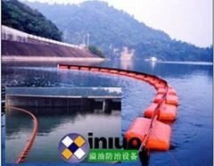 堅固耐用型長期放布水域攔截油污垃圾污染浮體圍欄