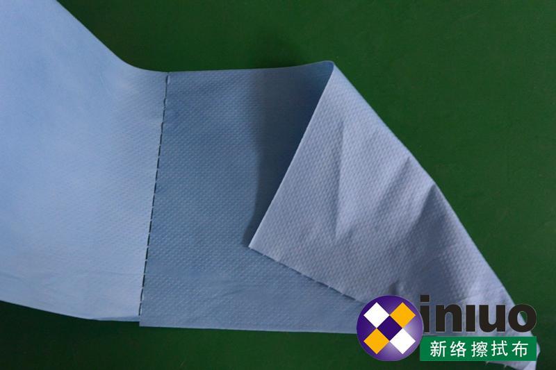 新络25190蓝色环保擦拭布工业机器油污清洁卷状擦拭布 8
