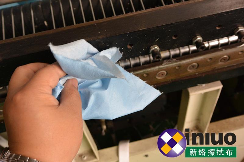 新络25190蓝色环保擦拭布工业机器油污清洁卷状擦拭布 14