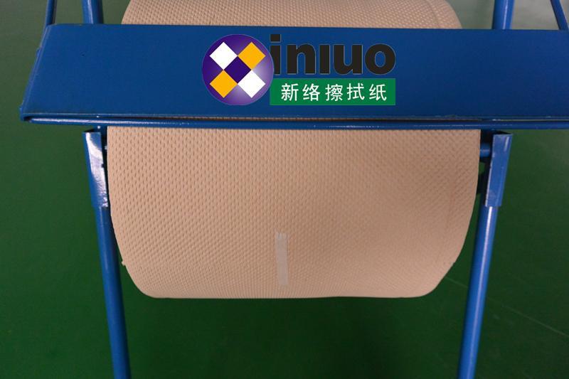 6193工业擦拭纸木浆淡黄色三层擦拭纸 4