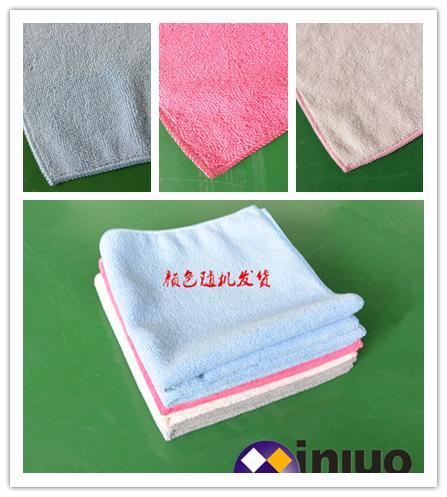 M3030超細纖維擦拭巾清潔擦拭布 吸水毛巾 擦車布 混色30cm*30cm(顏色隨機) 3