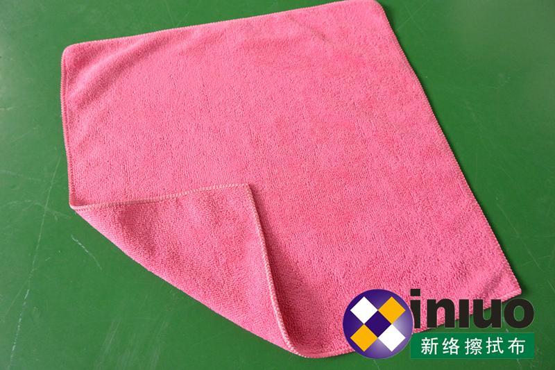 M3030超細纖維擦拭巾清潔擦拭布 吸水毛巾 擦車布 混色30cm*30cm(顏色隨機) 1