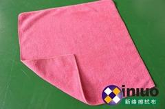 新络W4040擦拭巾清洁擦拭布 吸水毛巾 擦车布 混色40cm*40cm(颜色随机)