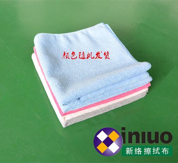 M3030超細纖維擦拭巾清潔擦拭布 吸水毛巾 擦車布 混色30cm*30cm(顏色隨機) 5
