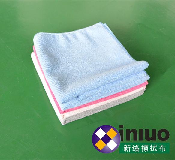 M3030超細纖維擦拭巾清潔擦拭布 吸水毛巾 擦車布 混色30cm*30cm(顏色隨機) 8