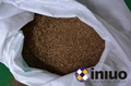 Special oil-absorbing particles ground 10