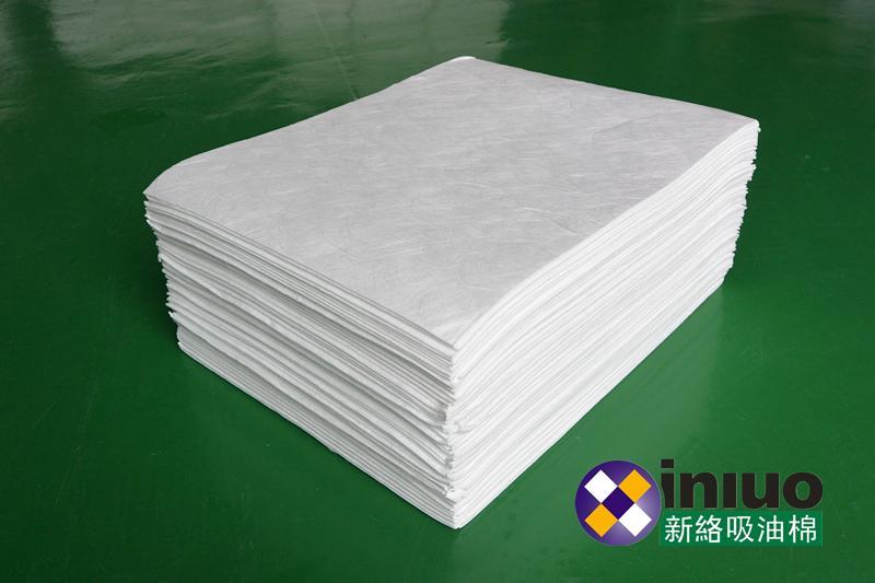 新络10303工业吸油垫6MM厚吸油垫白色不吸水吸油垫 7