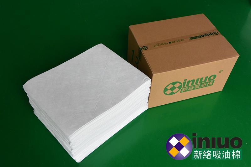 新络10303工业吸油垫6MM厚吸油垫白色不吸水吸油垫 8