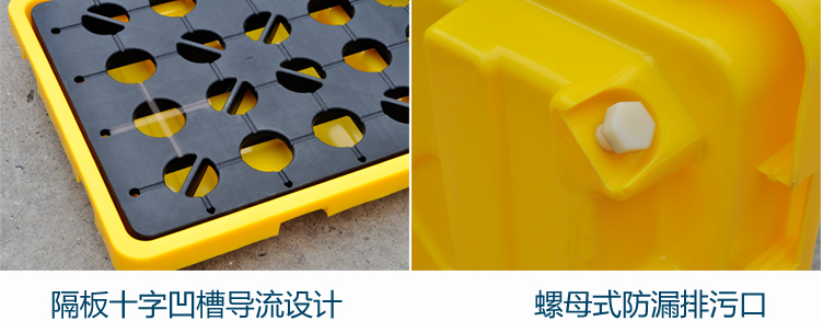 Xinluo FP-2 anti-leakage tray anti-leak prevention pallet platform 10