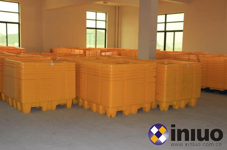 新絡FP02防滲漏平台化學品倉庫存儲桶防滲漏預防托盤平台 8