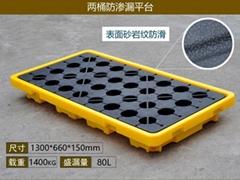 新絡FP02防滲漏平台化學品倉庫存儲桶防滲漏預防托盤平台