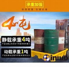 新絡FT04防滲漏托盤危害品倉庫存儲桶防滲漏預防托盤