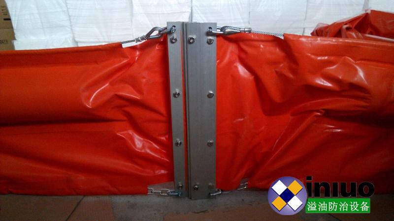 WGV600 solid float type PVC oil boom 5