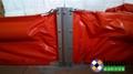 內河排污渠PVC450固體浮子式PVC圍油欄 5
