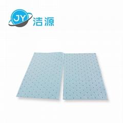 藍色2MM厚輕量級一分為二節省碱性危害品萬用型環保吸附片