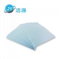 蓝色2MM厚轻量级一分为二节省碱性危害品万用型环保吸附片 2
