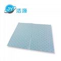 蓝色2MM厚轻量级一分为二节省碱性危害品万用型环保吸附片 4