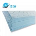 蓝色2MM厚轻量级一分为二节省碱性危害品万用型环保吸附片 5