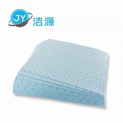 藍色2MM厚輕量級可撕開節省碱性危害品萬用型環保吸附片
