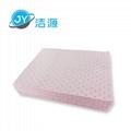 粉色轻量级2MM厚一分为二节省型酸性化学品万用型吸附片 2