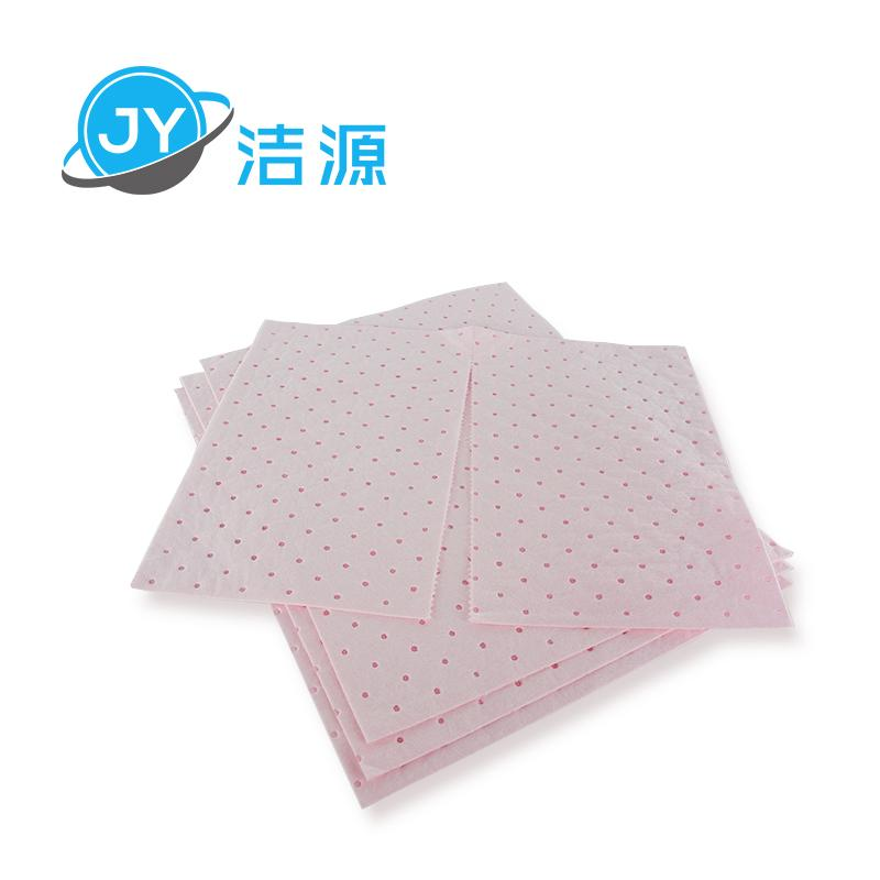 Pink 2MM thick save chemical acid liquid universal type adsorption sheet 1