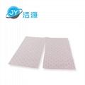 粉色輕量級2MM厚節省化學品酸性液體萬用型吸附片 2