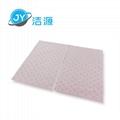 粉色輕量級2MM厚節省化學品酸性液體萬用型吸附片 3
