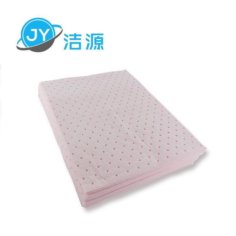 粉色輕量級2MM厚節省化學品酸性液體萬用型吸附片 5