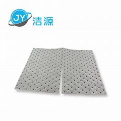 灰色輕量級2MM厚節省可撕開油水溶液吸收通用型吸液片