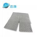 灰色轻量级2MM厚节省可撕开油水溶液吸收通用型吸液片