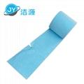 藍色2MM輕量級節省38cm寬90m長大卷實驗室碱性危害品萬用環保吸附棉 2